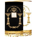 Chabad Torah Cover Hand Embroidered M-4221