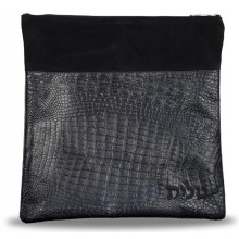 Leather Tallit / Tefillin Bag 640-BK