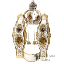 Sefer Torah Breast Plate 735