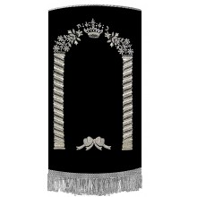 Hand made Torah Cover M-42425