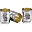 Sterling Silver Gan Eden Kiddush Cup